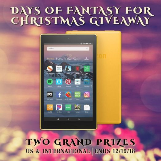 Giveaway - Days of Fantasy for Christmas