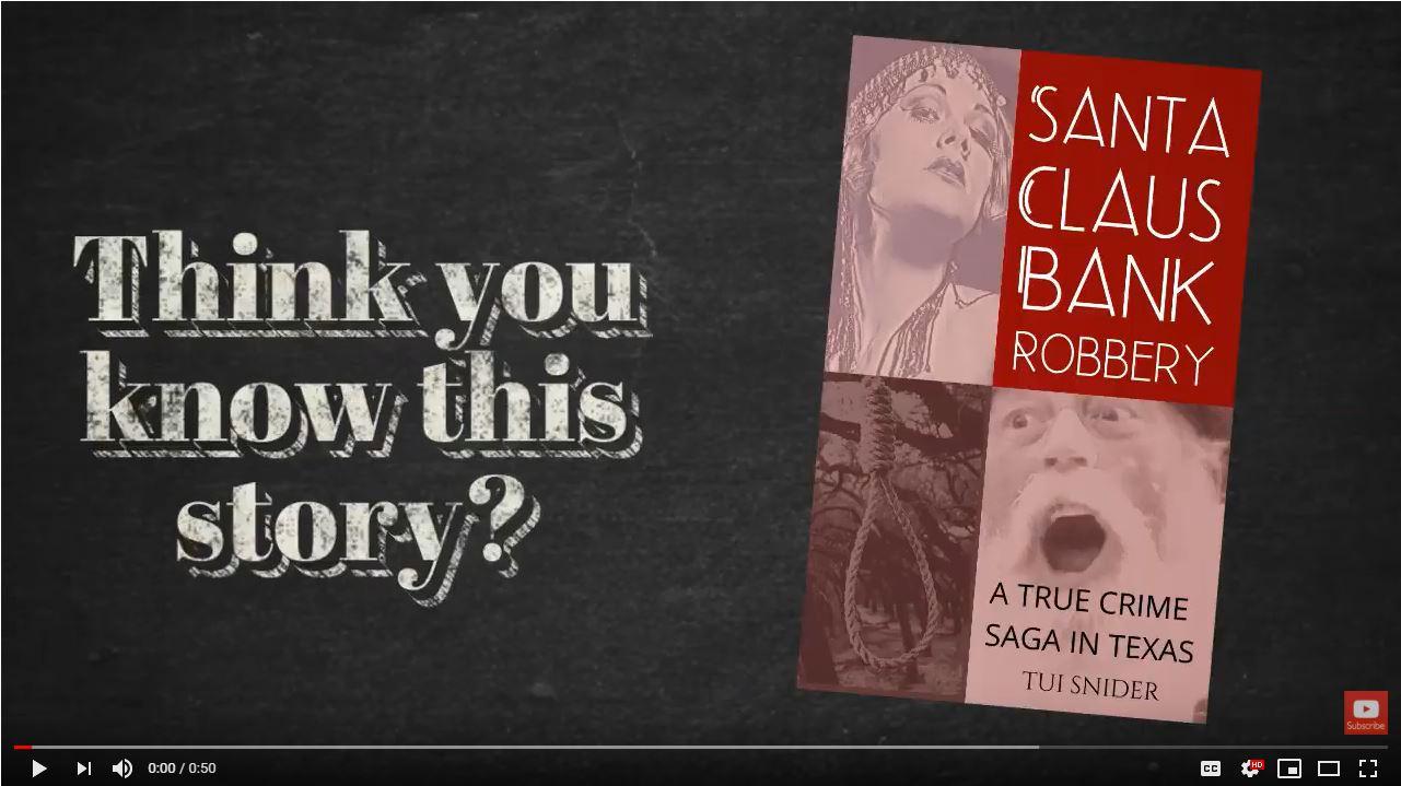 Book Trailer Screen Shot to Hyperlink